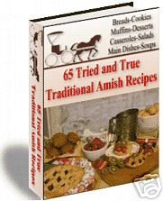 Thumbnail 65 TRADITIONAL AMISH RECIPES COOKBOOK FOOD DELICIOUS! OLD FASHION