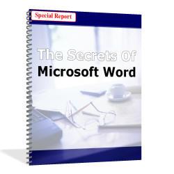 MICROSOFT WORD POWERFUL SECRETS GUIDE REVEALED