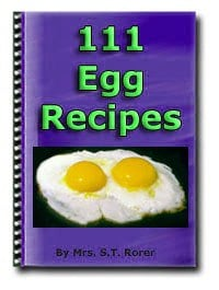Thumbnail EGG RECIPES - 111 RECIPES, COOKBOOK, DELICIOUS SNACKS & FOR PARTIES