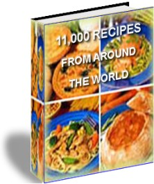 Product picture ULTIMATE COOKBOOK, 11000 RECIPES, EBOOK FOR DELICIOUS COOKING