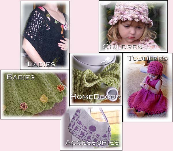Product picture CRAFT TREASURES, 102 VINTAGE CROCHET & KNITTING PATTERNS