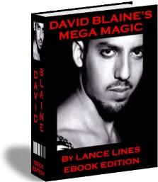 Product picture DAVID BLANE MEGA MAGIC 120 CARD TRICKS AND STREET MAGIC