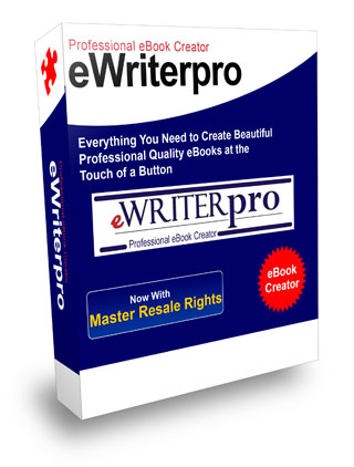 Product picture EWRITER PRO,PROFESSIONAL SOFTWARE CREATES AN EBOOK, ADOBE READER PDF, EASY