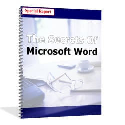 Product picture MICROSOFT WORD POWERFUL SECRETS GUIDE REVEALED
