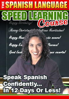 Product picture LEARN HOW TO SPEAK SPAINISH QUICKLY COURSE, EBOOKS, WITH FREE BONUS AUDIO
