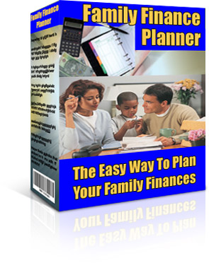 Product picture FAMILY FINANCE BUDGET S/WARE HOME ACCOUNTING PLANNER PLUS